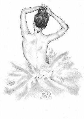 DESSIN | Danseuse étoile tatouée