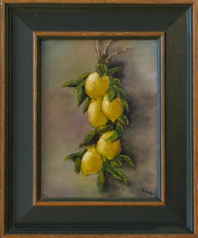 Hanging Lemons