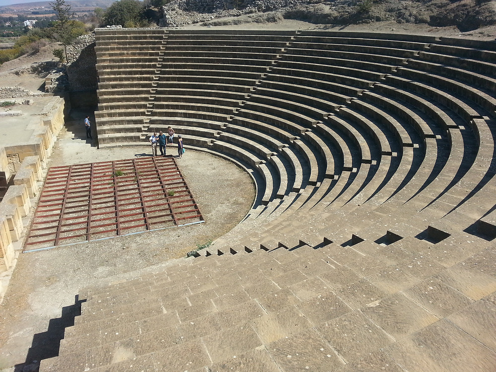 My photo of Soli theatre I took in Cyprus, 2014