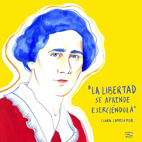 Clara Campoamor ( Print digital)