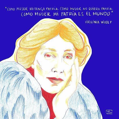 Virginia Woolf / Print digital