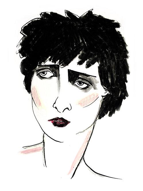 ELLES - Siouxsie Sioux (PRINT)