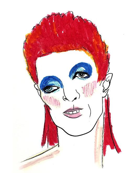 ELLES - David Bowie (PRINT)