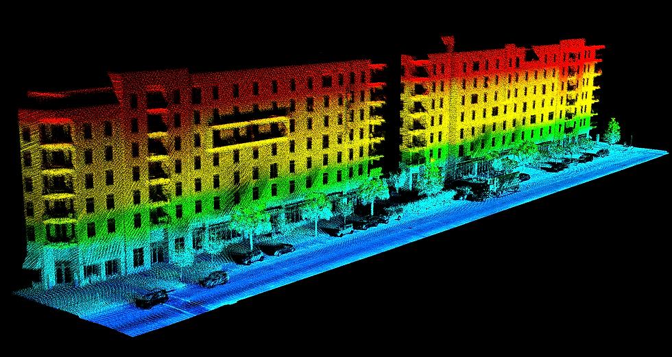 Mobile LiDAR imagery Tampa