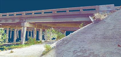 3D Laser Scan of Bridge