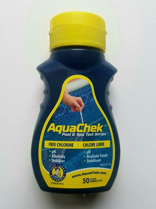 AquaCheck Yellow Test Strips