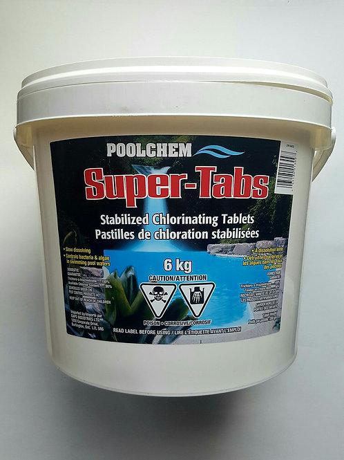 Super Tabs - 6 Kg