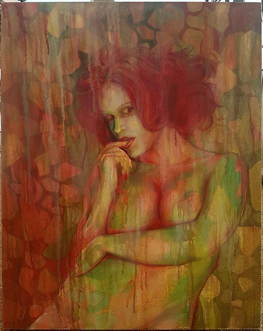 Lust, 2013 | Amir Sabetazar | Oil on canvas |100x80cm