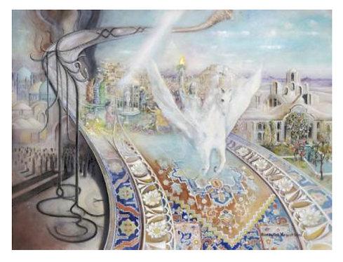 The Glory of light | Homayoun Yeroushalmi | Oil on Canvas | 36 x 48inch