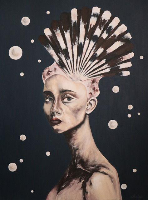 Shadli Shaghaghi | Untitled, 2018 | Acrylic on canvas | 60x80cm