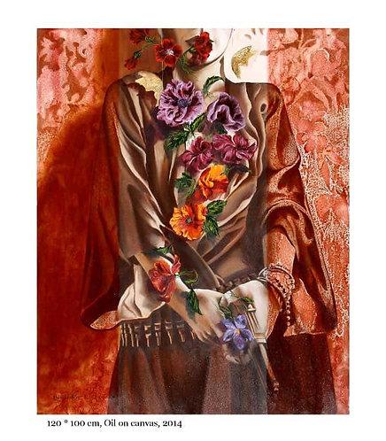 Roya Najafzadeh Asl | Sensational Selection | Oil colour on canvas |120x100cm
