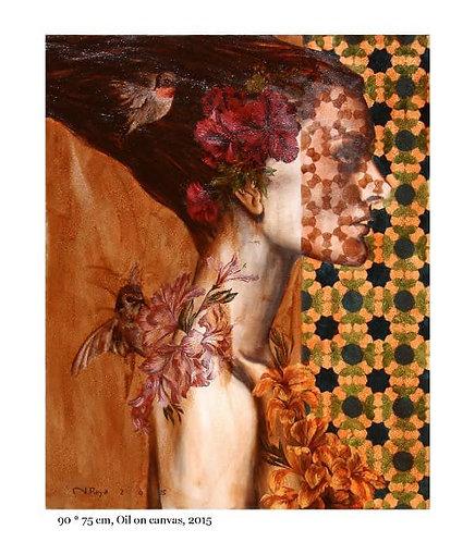Roya Najafzadeh Asl | Sensational Selection | Oil colour on canvas | 90x75cm