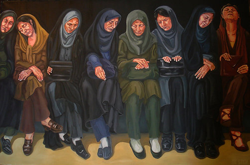 Sima Eftekhary-Rad | Untitled, 2010 | Oil on Canvas |100x 150cm