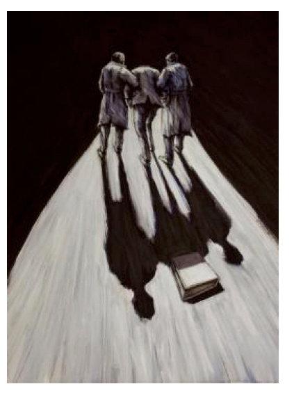 Remembering ll | Alireza Darvish | PEN & INK and Acrylic | 52 X 55 CM