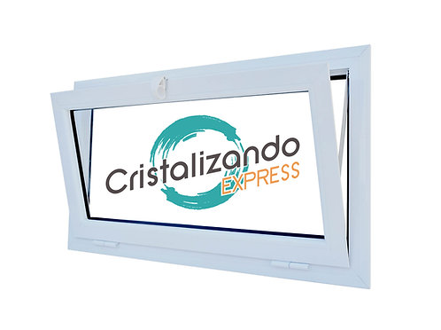 Ventana banderola (L45) cristal Float 4mm