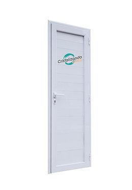 Puerta de rebatir con machimbre (L45)