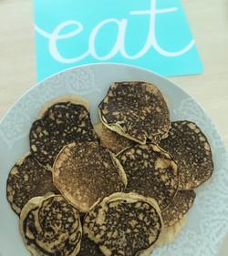 GF Banana Oat Protein Pancakes
