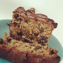 Whole Wheat ChocChip PB Banana Bread