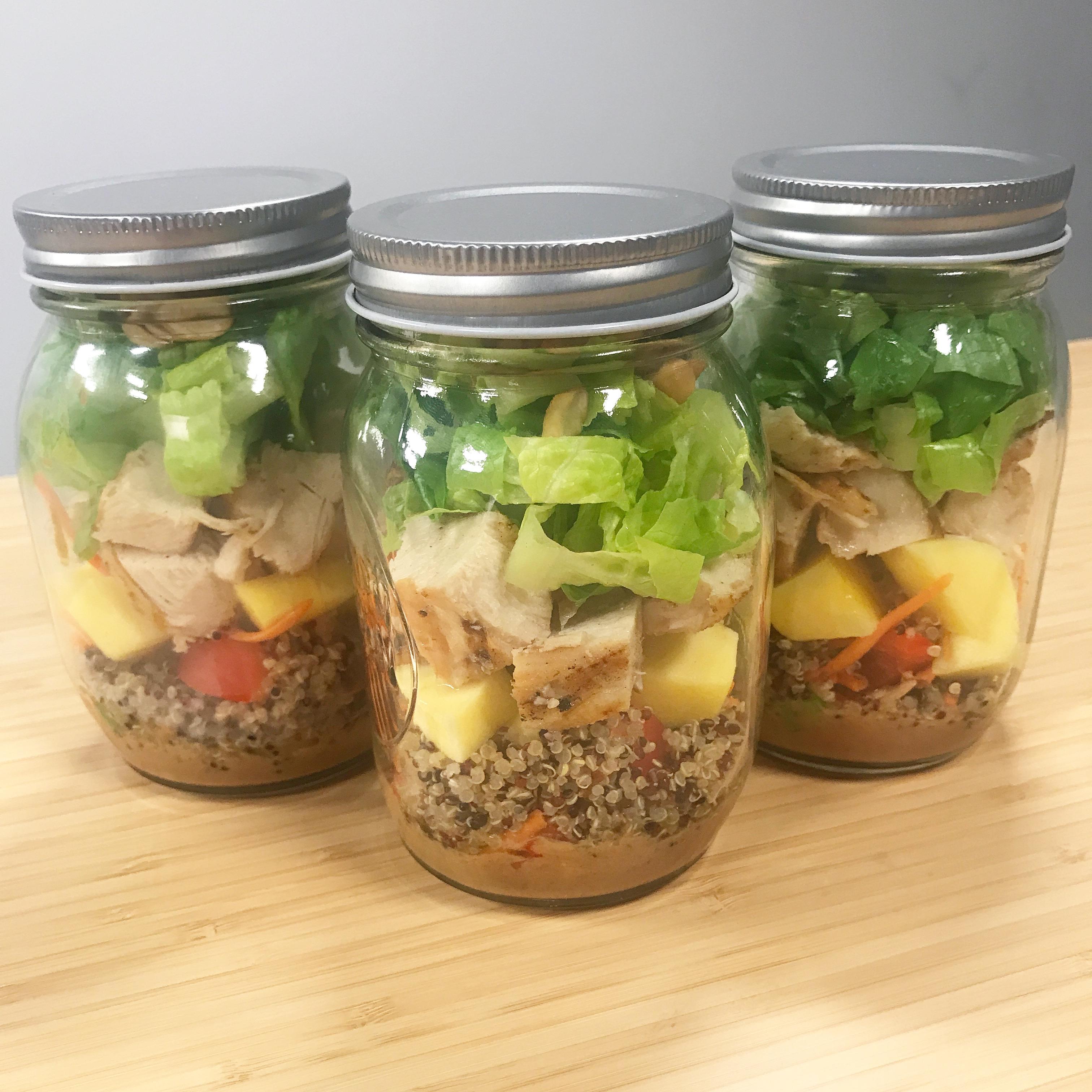 Thai Mason Jar Salad