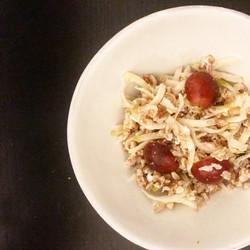 Fibrous Farro, Cheese N' Fruit Salad