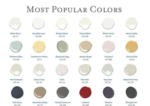 BM Popular Colors