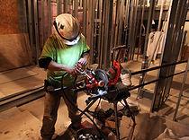 pipe threading service