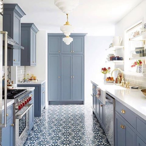 BM painted cabinets