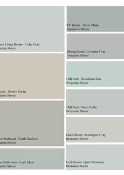bm coordinating colors