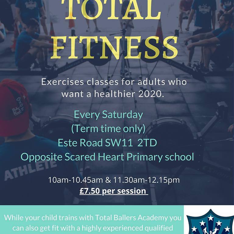 Total Ballers Academ-Total Fitness classes.