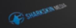 Sharkskin Media Logo - Blue