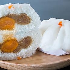 หมูสับไข่เค็ม  Minced pork  with salty egg