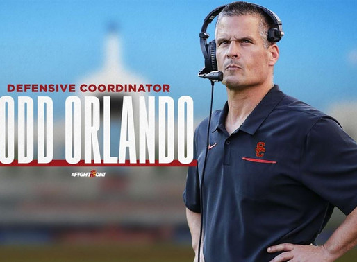 USC DC Todd Orlando Advanced Stats Profile.