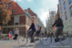 Münster, livability, cycling, active transportation, health, Frank Wefering