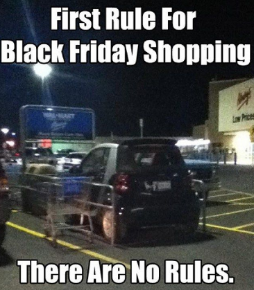 Black Friday - more like See Red Friday.