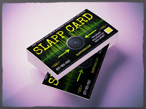 SLAPP PACK 2 - BOSS PACK QR CODE + NFC SLAPP TECHNOLOGY