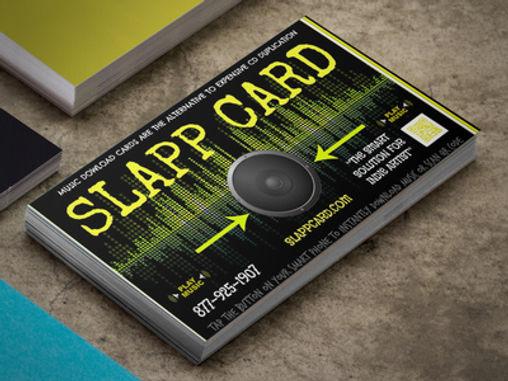 SLAPP CARD Digital Music Download Card CD DUPLICATION