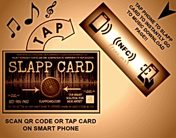 SLAPP CARD Digital Music Download Card CD DUPLICATION
