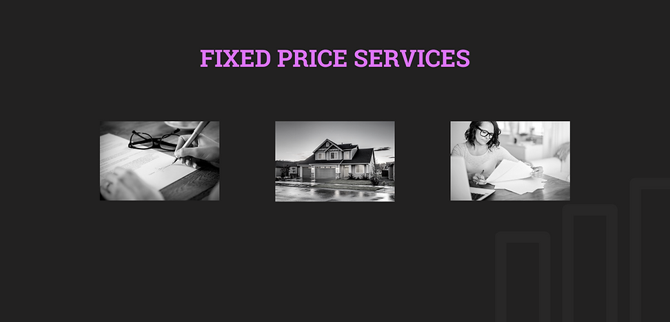 fixed price services