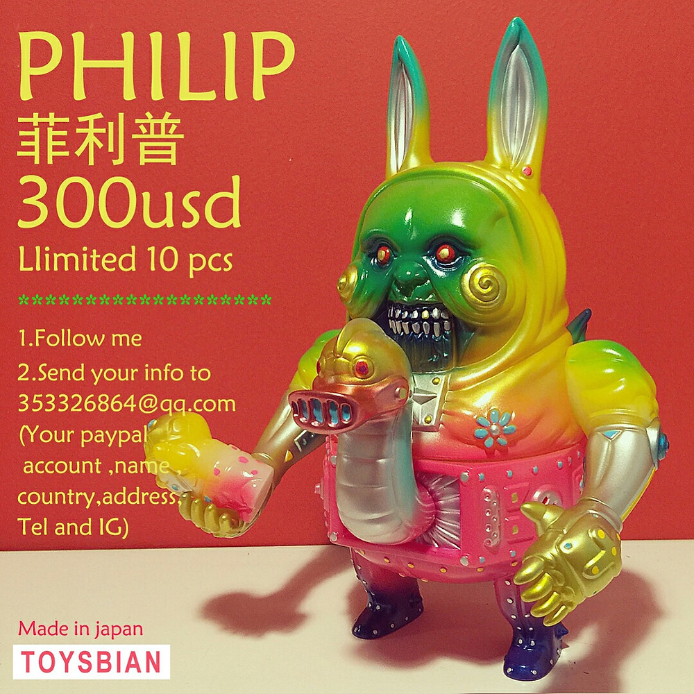 "Toysbian ""VIOLENCE"" Philip"