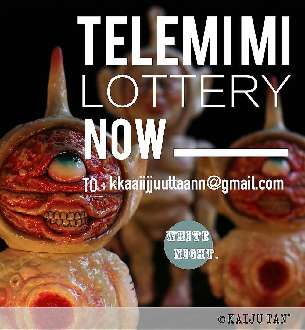 """Kaiju TAN """"WHITE NIGHT"""" TeleMimi"""