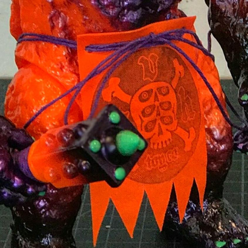 """Halloween"" Zug (Loin Cloth and Omake Close up)"