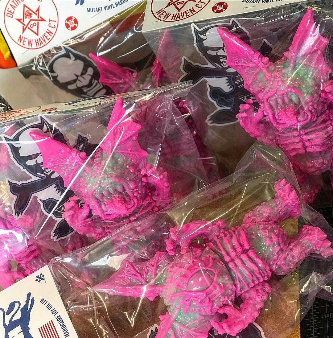 """GITD Pink Marble"" FLYING FREAK DX  (Picture Credit: MVH)"