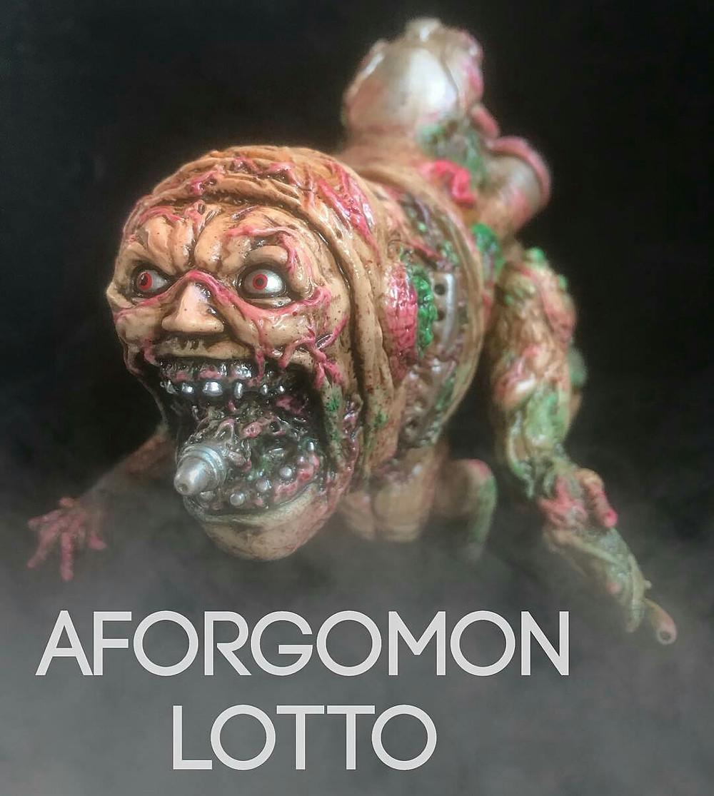 """Adrian Jhuang X Miscreation Toys - """"GORE AFORGOMON"""""""