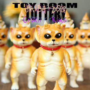 """Toy Boom """"SHIBA DOG"""" Crukii & Kimo   Sofubi   Designer Toy   Kaiju"""