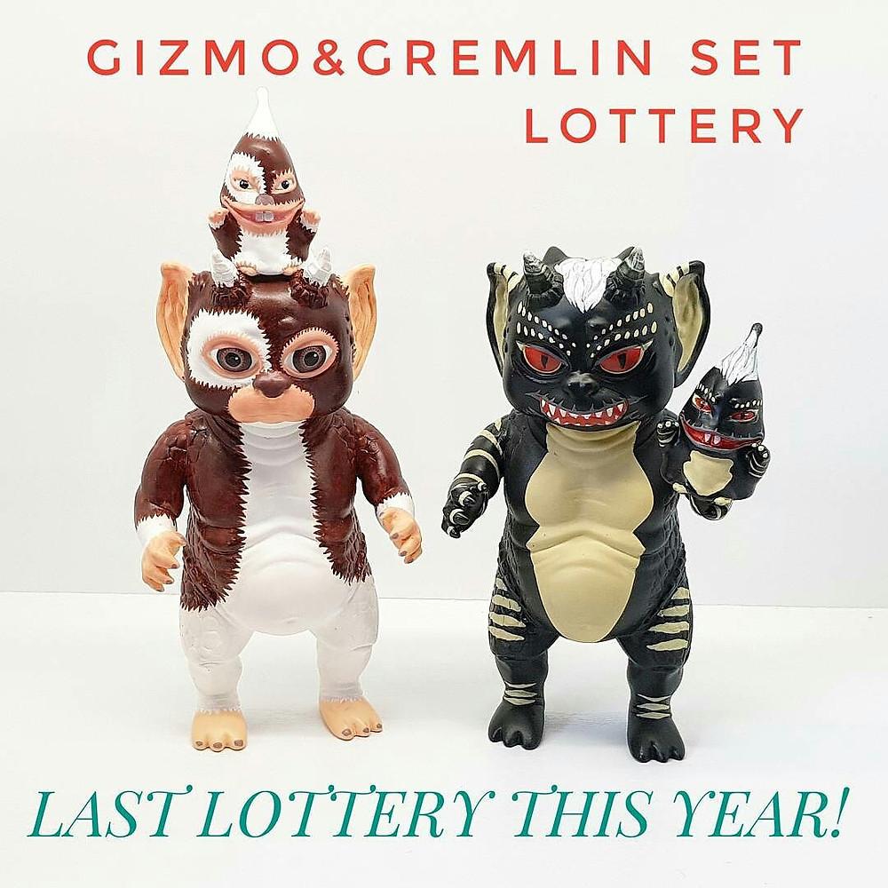 "Toy Boom ""GIZMO & GREMLIN"" Crukii & Kimo Set"