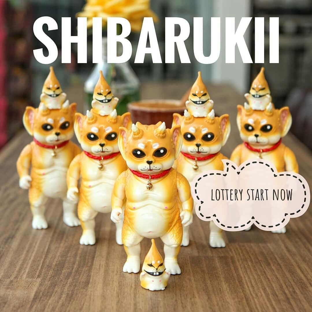 """SHIBA DOG"" Crukii & Kimo (Toyboom Promo Pic)"