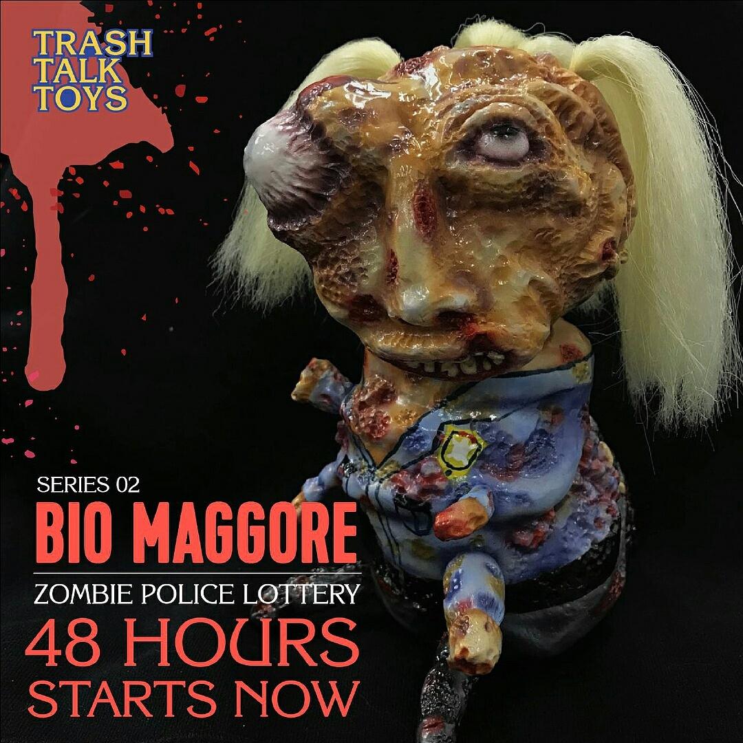 """Bio Maggore """"Zombie Police"""" Series 2"""
