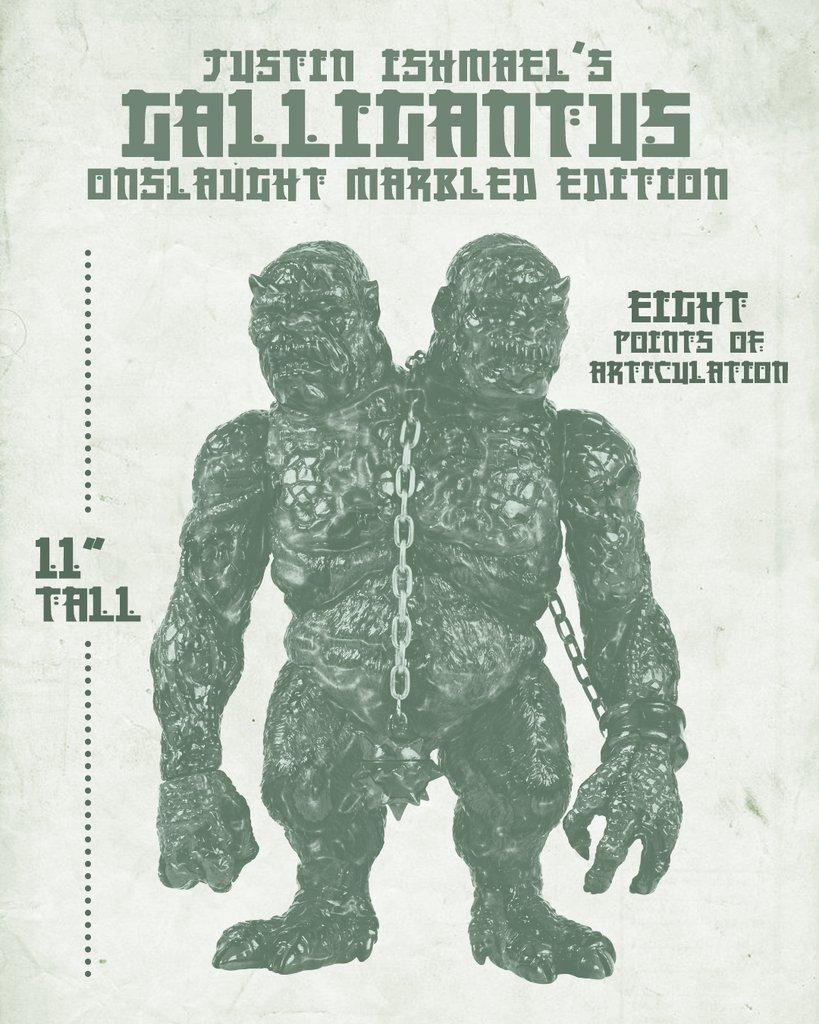 """""""ONSLAUGHT MARBEL"""" Galligantus (promo picture)"""