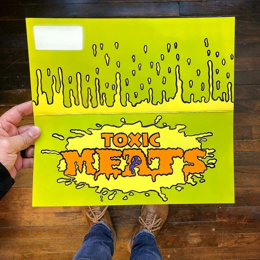 """Toxic Meats """"Painted Header"""""""