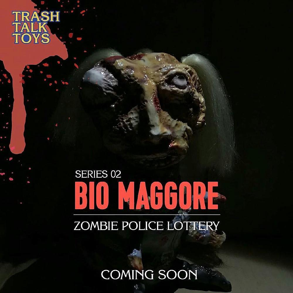 "Trash Talk Toys ""ZOMBIE POLICE"" Bio Maggore Series 2"